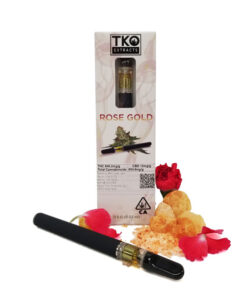TKO Extracts Rose Gold