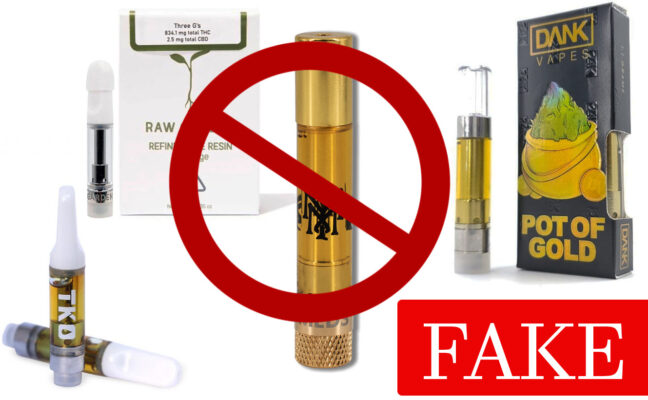 real and fake tko carts online