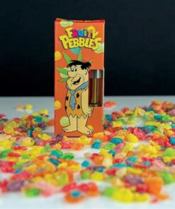 Cereal carts Fruity Pebbles