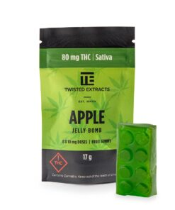 Twisted Extracts Apple Jelly Bomb (Sativa)